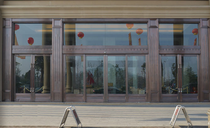 玻璃门案例