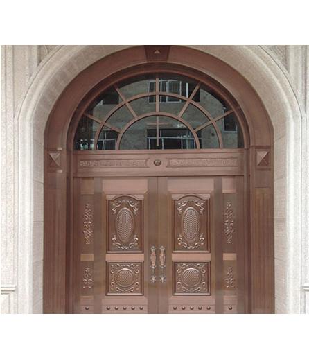 兰州铜门 工程门
