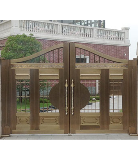 别墅铜门 院庭门价格
