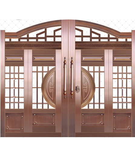 长沙铜门 院庭门生产