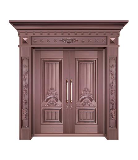 铜门双开门