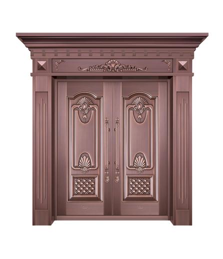 湖南铜门双开门设计