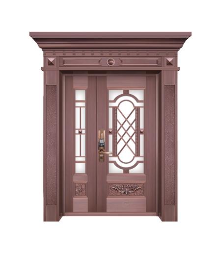 湖南铜门 子母门设计
