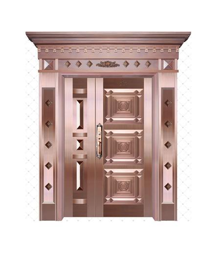 长沙铜门 子母门设计