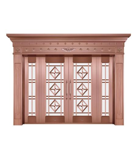长沙铜门 玻璃门批发