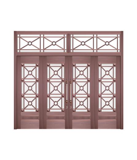 湖南铜门 玻璃门生产