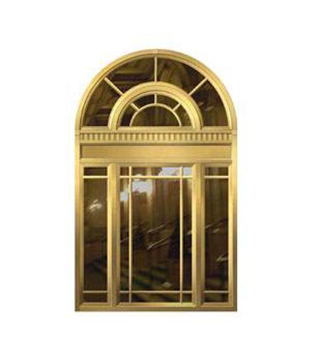 长沙别墅铜窗设计