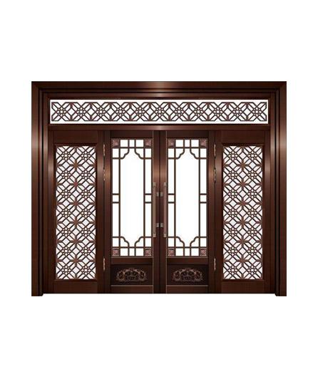 湖南别墅铜窗制作