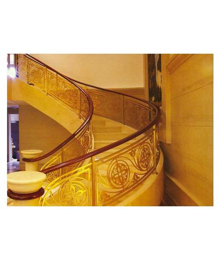 长沙别墅铜扶手装饰