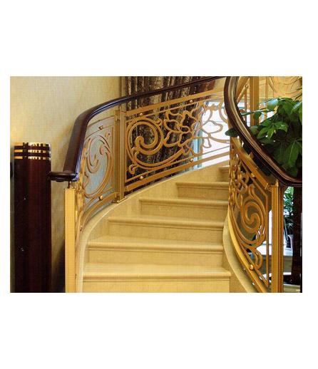 湖南别墅铜扶手设计