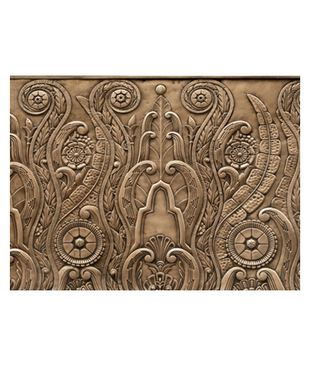 别墅铜门 铜背景制作