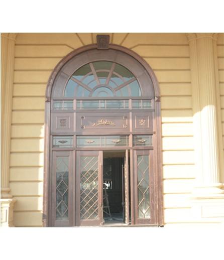 长沙铜门 工程门制作