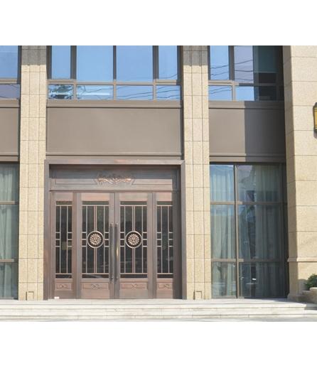 长沙铜门 工程门设计