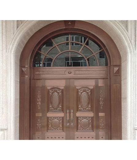 长沙铜门 工程门价格