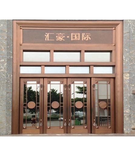 长沙铜门 工程门厂家