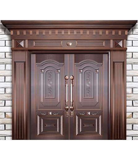 长沙铜门双开门制作