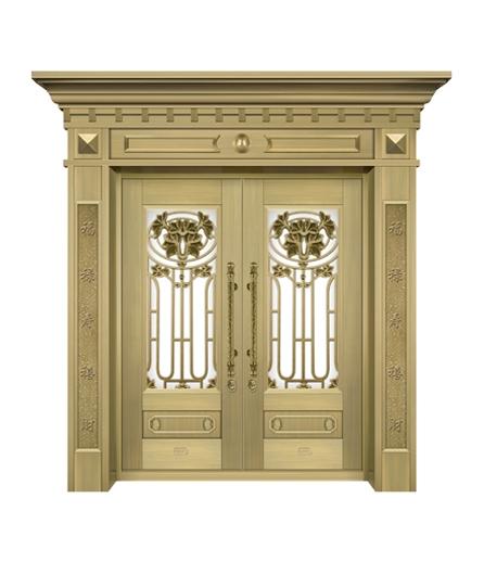 长沙铜门 玻璃门销售