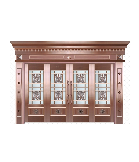 铜门 玻璃门