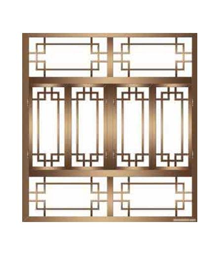 长沙别墅铜窗制作