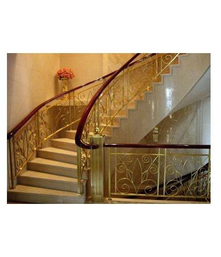 长沙别墅铜扶手设计