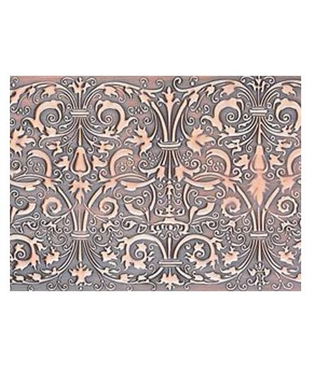 别墅铜门 铜背景设计